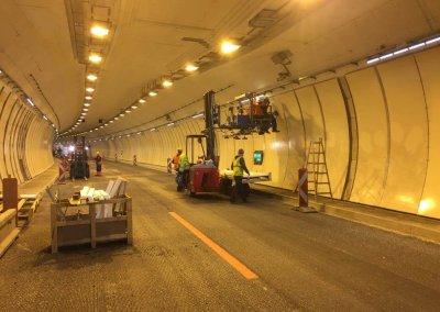 A12 Inntalautobahn Instandsetzung Wiltener Tunnel