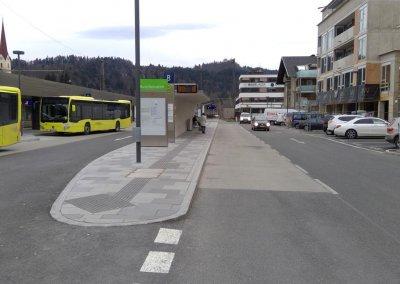 Attraktivierung Vorplatz Bahnhof Kufstein