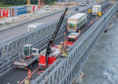 Rettungsübung Terfener Innbrücke