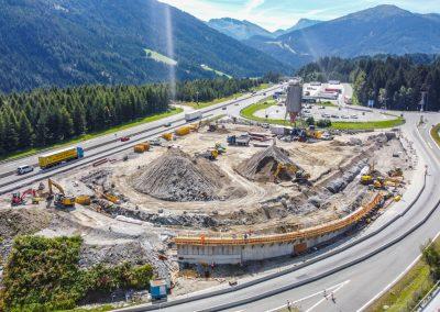 Erweiterung Rastplatz Nößlach