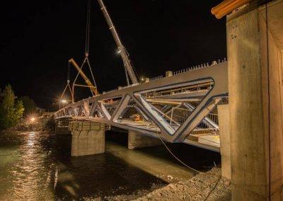 Straßenbahnbrücke östlich Grenobler Brücke