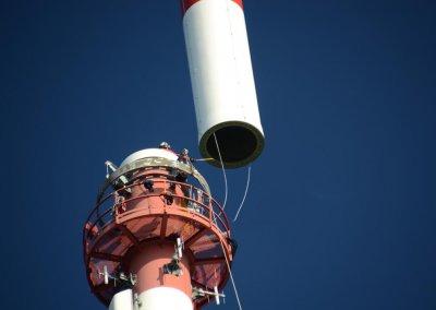 Umbau Sendeanlage am Kitzbühler Horn