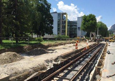 Straßenbahnausbau