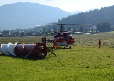 Umbau Sendeanlage am Kitzbüheler Horn